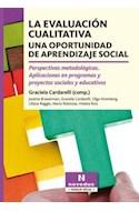 Papel EVALUACION CUALITATIVA UNA OPORTUNIDAD DE APRENDIZAJE SOCIAL (COLECCION TRABAJO SOCIAL)
