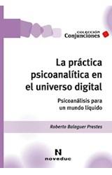 Papel LA PRACTICA PSICOANALITICA EN EL UNIVERSO DIGITAL