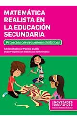 Papel MATEMATICA REALISTA EN LA EDUCACION SECUNDARIA