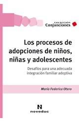 Papel LOS PROCESOS DE ADOPCIONES DE NIÑOS, NIÑAS Y ADOLESCENTES