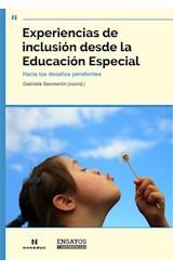 Papel EXPERIENCIAS DE INCLUSION DESDE LA EDUCACION ESPECIAL