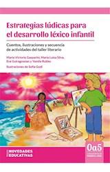 Papel ESTRATEGIAS LUDICAS PARA EL DESARROLLO LEXICO INFANTIL