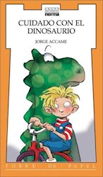 Papel Cuidado Con El Dinosaurio