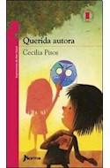 Papel QUERIDA AUTORA (7 AÑOS) (TORRE DE PAPEL ROJA)