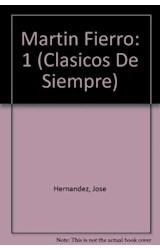 Papel MARTIN FIERRO 1 (COLECCION CLASICOS DE SIEMPRE)