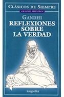 Papel REFLEXIONES SOBRE LA VERDAD (CLASICOS DE SIEMPRE)