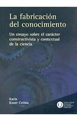Papel LA FABRICACION DEL CONOCIMIENTO