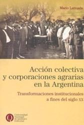 Papel Accion Colectiva Y Corporaciones Agrarias