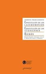 Libro Constitucion De Los Lacedemonios. Hieron.Constitucion De Los Atenienses
