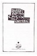 Papel CANCION DEL SAMURAI