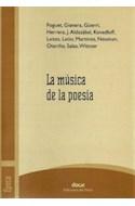 Papel MUSICA DE LA POESIA (SERIE EPOCA)