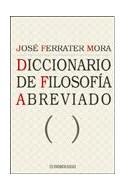 Papel DICCIONARIO DE FILOSOFIA ABREVIADO (FERRATER MORA)