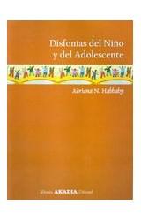 Papel DISFONIAS DEL NIÑO Y DEL ADOLESCENTE
