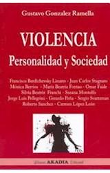 Papel VIOLENCIA PERSONALIDAD Y SOCIEDAD