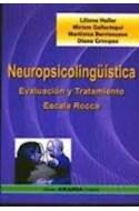 Papel NEUROPSICOLINGUISTICA EVALUACION Y TRATAMIENTO ESCALA ROCCA (RUSTICA)