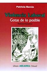Papel VIOLENCIA LABORAL GOTAS DE LO POSIBLE