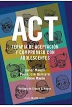 Papel ACT TERAPIA DE ACEPTACION Y COMPROMISO CON ADOLESCENTES
