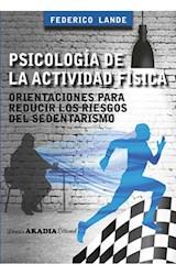 Papel PSICOLOGIA DE LA ACTIVIDAD FISICA