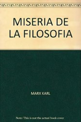Papel Miseria De La Filosofia