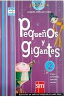 Papel PEQUEÑOS Y GIGANTES 2 S M AREAS INTEGRADAS