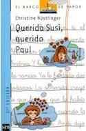 Papel QUERIDA SUSI QUERIDO PAUL (BARCO DE VAPOR AZUL)