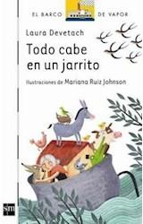 Papel TODO CABE EN UN JARRITO (BARCO DE VAPOR BLANCO)