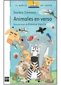 Papel Animales En Verso
