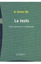 Papel TESIS, LA (COMO ORIENTARSE EN SU ELABORACION)