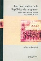 Papel Construccion De La Republica De La Opinion