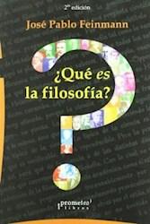 Libro Que Es La Filosofia ?