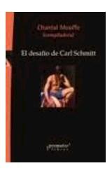 Papel EL DESAFIO DE CARL SCHMITT