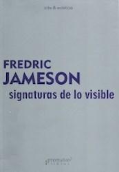 Libro Signaturas De Lo Visible