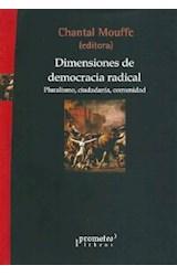 Papel DIMENSIONES DE DEMOCRACIA RADICAL