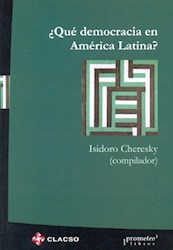Libro Que Democracia En America Latina ?