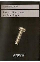 Papel LAS EXPLICACIONES EN PSICOLOGIA