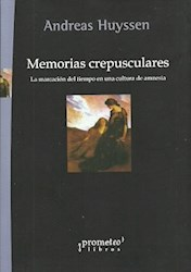 Libro Memorias Crepusculares