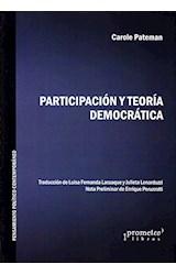 Papel PARTICIPACION Y TEORIA DEMOCRATICA