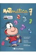 Papel MATIMATICA 7 TINTA FRESCA  (NOVEDAD 2011)