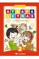 Papel ATRAPALETRAS 2 TINTA FRESCA (LETRA CURSIVA) (NOVEDAD 2012)