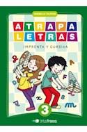 Papel ATRAPALETRAS 3 TINTA FRESCA (IMPRENTA Y CURSIVA) (NOVEDAD 2012)