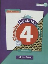 Libro Sociales + Naturales Bonaerense 4  Conciencia
