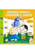 Papel CUANDO TOMAS CONOCIO A ANITA (VENTANITAS PICTOGRAFICAS)