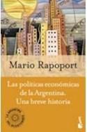 Papel POLITICAS ECONOMICAS DE LA ARGENTINA UNA BREVE HISTORIA