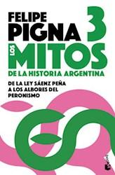 Papel Mitos De La Historia Argentina, Los 3 Pk