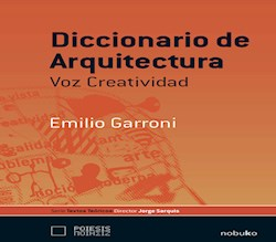 Libro Diccionario De Arquitectura Voz Creativa