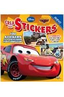Papel CREA CON STICKERS (DISNEY PIXAR CARS) (100 STICKERS Y 1  1 ESENARIOS PARA COMPLETAR)