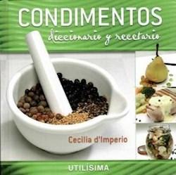 Papel Condimentos Diccionario Y Recetario