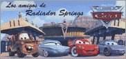 Papel MUNDO DE CARS AMIGOS DE RADIADOR SPRINGS