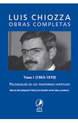 Papel PSICOANALISIS DE LOS TRASTORNOS HEPATICOS T.1 1963-1970 OBRA