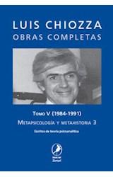 Papel METAPSICOLOGIA Y METAHISTORIA 3 T.V 1984-1991